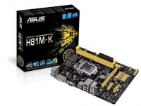 Asus H81MK LGA1150 Intel Motherboard Photo