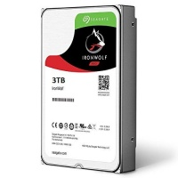 Seagate 3TB 3.5 IRONWOLF NAS HDD 64MB CACHE Photo