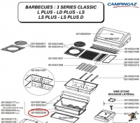 Campingaz Electrode housing for Series 3 Classic barbecue Photo