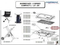 Campingaz Electrode for 2 Series barbecue Photo