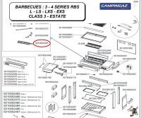 Campingaz 28mb burner for 3 - 4 Series barbecue Photo