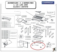 Campingaz 3 - 4 Series RBS barbecue wheels Photo