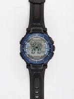 Bad Boy Digi 100M-WR Watch Black and Blue Photo
