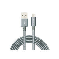 X-one Charging Cable 3M Micro- USB - Grey Photo
