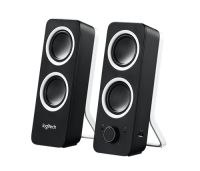 Logitech Z200 Computer Stereo Speakers With Bass Photo