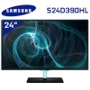 """Samsung S24D390HL 24"""" FHD1920x1080 LED Monitor with the Touch of Color / PLS Panel with Wide Viewing Angle / HDMI and VGA Connections"""