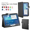 Samsung Leather Stand Cover Case For Galaxy Tab 3 10.1 P5200 / P5210 - white