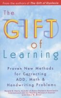 gift of learning Ronald D Davis