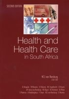 health and health care in south africa HCJ van Rensburg