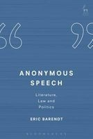anonymous speech Eric Barendt