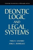 deontic logic and legal systems Pablo E Navarro