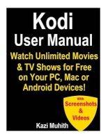kodi user manual Kazi Muhith