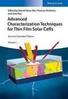 advanced characterization techniques for thin film solar Daniel Abou Ras