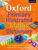 Photo of Oxford Primary Illustrated Maths Dictionary (Paperback) - Oxford Dictionaries