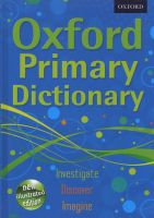 Photo of Oxford Primary Dictionary 2011 (Hardcover) - Oxford Dictionaries