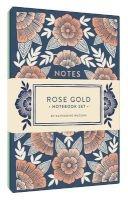 rose gold notebook set Katharine Watson