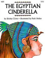 Photo of The Egyptian Cinderella (Paperback 1st Harper Trophy ed) - Shirley Climo