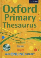 Photo of Oxford Primary Thesaurus (Hardcover) - Oxford Dictionaries