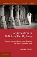 adjudication in religious family laws Gopika Solanki