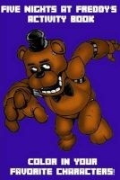 five nights at freddys activity book Phone Guy