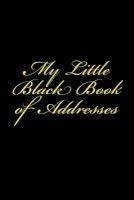 my little black book of addresses Blank Notebooks
