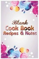 blank cookbook recipes and notes T Michelle