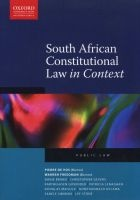 south african constitutional law in context Danie Brand