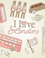 jumbo oversized i love london red phone booths double Unique Journal