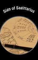 sign of sagittarius Horoscope Blank Notebooks