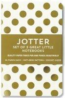 gold dots jotter notebooks 3 Inc Peter Pauper Press