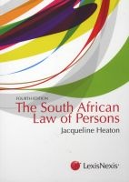 the south african law of persons Jacqueline Heaton