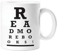read more books mug
