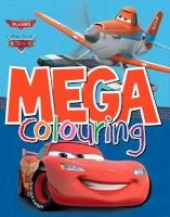 disney planes and disney pixar cars mega colouring