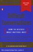 difficult conversations Douglas Stone
