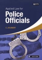 applied law for police officials CD Joubert