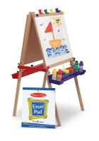 melissa and doug deluxe wooden standing art easel Douglas Melville