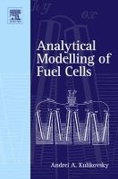 analytical modelling of fuel cells Andrei A Kulikovsky