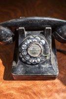 vintage rotary phone flea market find journal Cs Creations