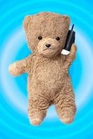teddy bear on the phone journal Cool Image