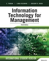 information technology for management Efraim Turban