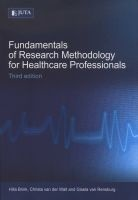 fundamentals of research methodology for healthcare Hilla Brink