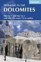 trekking in the dolomites Gillian Price