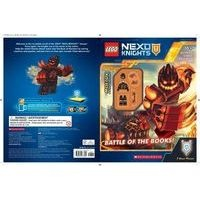 battle of the books lego nexo knights Scholastic