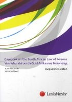 casebook on the south african law of persons vonnisbundel