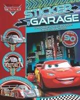 disney pixar cars sticker garage