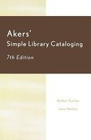 akers simple library cataloging Arthur Curley