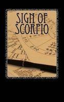 sign of scorpio Horoscope Blank Notebooks
