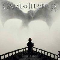 game of thrones 2017 wall calendar Hbo