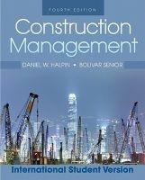 construction management Daniel W Halpin