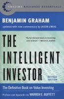 the intelligent investor Benjamin Graham